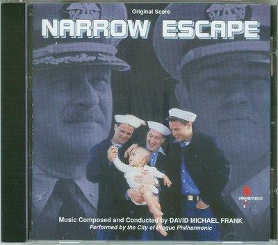 "[原聲帶-N]-""Narrow Escape""- David Michael Frank,全新德版,09"