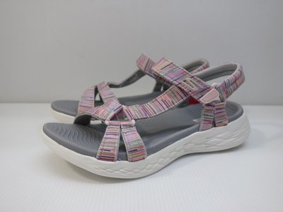 =小綿羊= SKECHERS ON THE GO 600 灰紫 140013GYMT 女生 涼鞋 透氣 柔軟