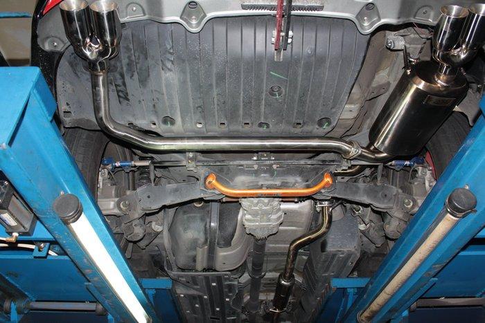 HONDA CRV4 葆羅 強化加厚版中尾段 4出 全車系可訂做