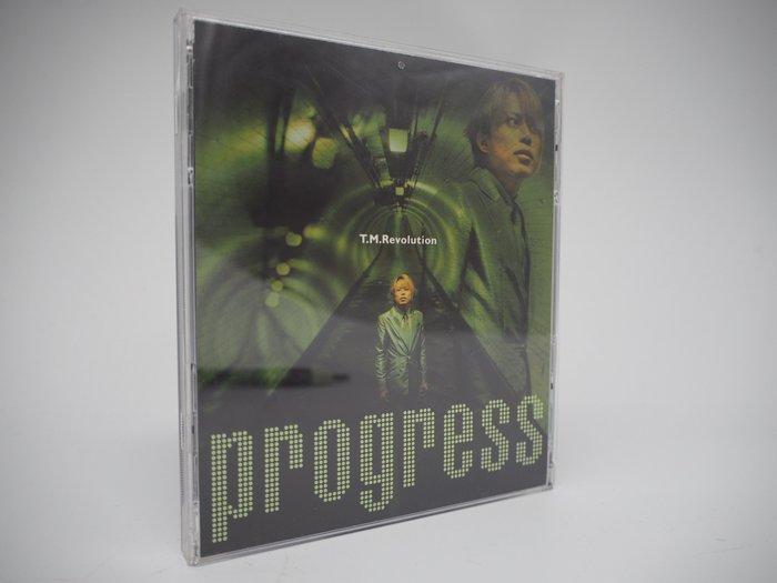 【月界二手書店】T.M. Revolution Progress 前進未來CD專輯 (絕版)_西川貴教 〖專輯〗CIL