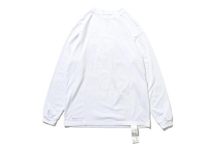 "[ LAB Taipei ] DeMarcoLab ""VOID CONTROL L/S TEE"" (White)"
