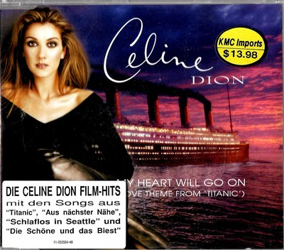 席琳狄翁Celine Dion / My Heart Will Go On (單曲)