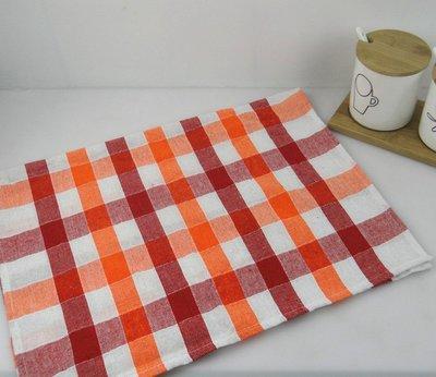 ☀純棉☀tea towel 茶巾☀擦布☀棉布☀餐巾☀格子布【40*60cm】