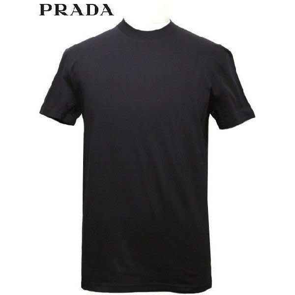 喬瑟芬【Prada】現貨~2015春夏 黑標 圓領素面  棉質 T 恤