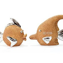 【喬尚拍賣】藝術家飾品 熱帶魚一對