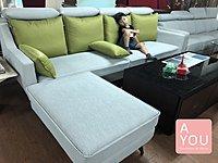 台灣造型貓抓皮L型沙發搶購中
