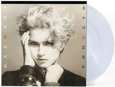 【黑膠唱片LP】同名專輯(透明水晶彩膠) Madonna (crystal clear vinyl)-RCV23867