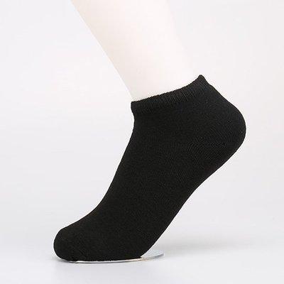 純色 無印風 短襪(1雙) 學院風 男襪 女襪 船襪 透氣 棉襪 彈性襪 排汗 基本款 襪子❃彩虹小舖❃【B010-1】