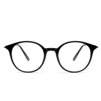 眼鏡 框 圓框 鏡架-新款時尚個性透明男女平光眼鏡5色73oe50[獨家進口][米蘭精品]