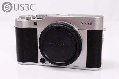 【US3C】公司貨 Fujifilm X-A5 Body 單機身 單眼相機 內建WiFi 2420萬像素 原廠保固內