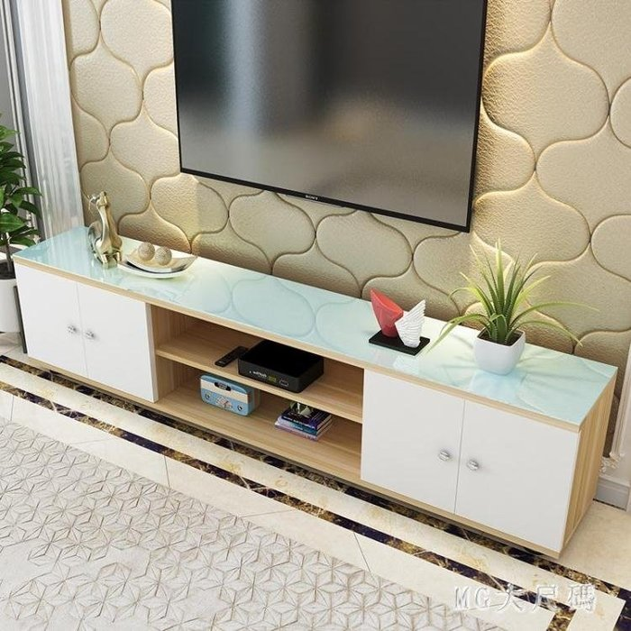 電視柜現代簡約小戶型簡易客廳臥室地柜經濟型家具組合柜 QQ25330--凡卡