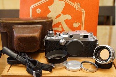 一套完美收藏 CANON IIF2 RF旁軸連動測距相機 L39/LTM 50mm F1.8
