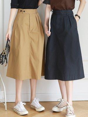 MX 夏季新款 經典版型 高腰A自半身裙