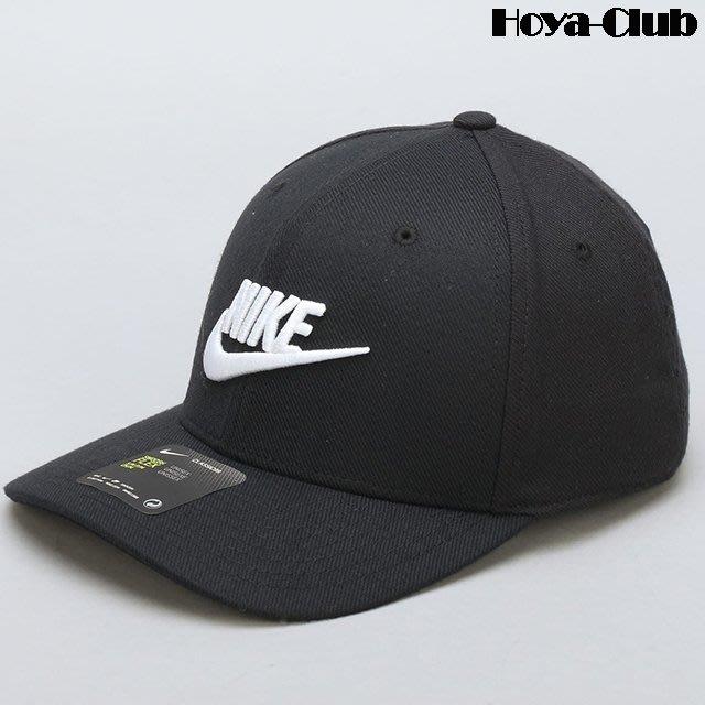 NIKE U NSW CLC99 CAP SWFLX 黑logo 891279-010 棒球帽 ... 3d2a39899d70