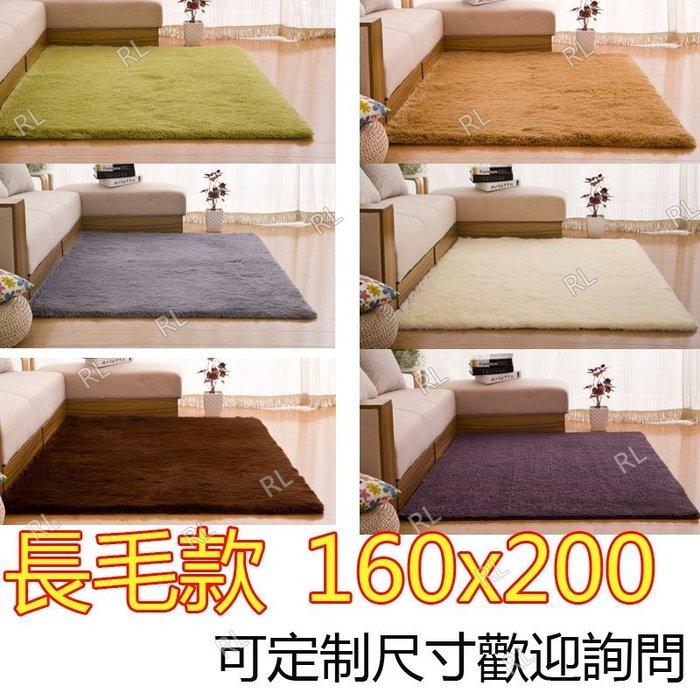 200*160cm 絲毛地毯 長毛款絲毛地毯4.5cm 瑜珈地墊 遊戲軟墊 可定製尺寸 歡迎詢問