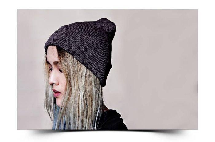 美國東村【Recovery】混紡針織 素面毛帽 全新六色 (黑/灰/米/紅/藍/抹綠)