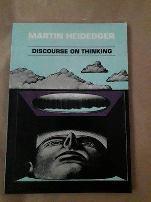 (下標即結標)(絕版)Martin Heidegger海德格-Discourse On Thinking(英文版)