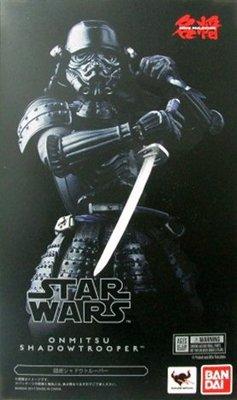 日本正版 萬代 名將 MOVIE REALIZATION 星際大戰 暗影風暴兵 可動 模型 公仔 日本代購