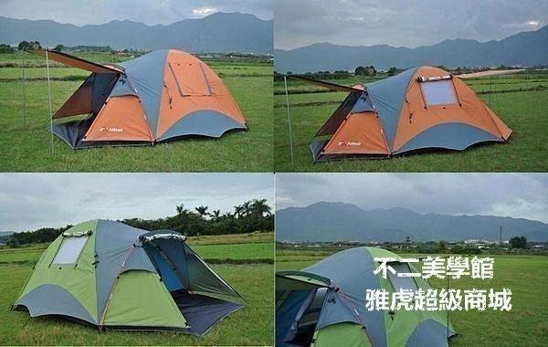 【格倫雅】^戶外超大大帳篷3人帳篷4人帳篷戶外野營雙人雙層帳篷11515[g-l-y73