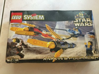絕版 Lego 樂高 星際大戰 7131 Anakin's Podracer 全新
