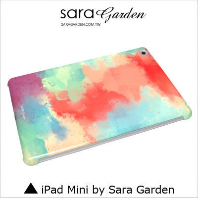iPad Mini 1 2 3 4 客製化 保護殼 渲染水彩【G0101707】
