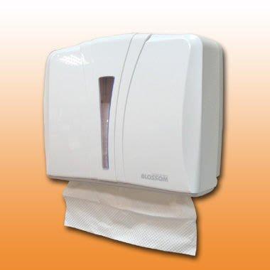 「香港商莊臣」TD0026ZA004A 單包式N折衛生紙架/擦手紙巾架(BL0405A)
