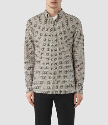 AllSaints Grid Shirt 花紋襯衫