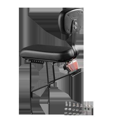 自行車配件 大魚(DYU)電動車專用后座 黑色