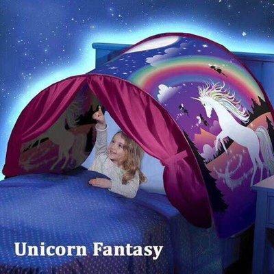 Dream Tents 可折疊兒童卡通帳篷 星空夢幻帳篷 室內床上蚊帳帳篷君君の店ZH0