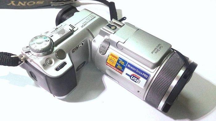 ☆手機寶藏點☆ Sony CyberShot DSC-F717 數位相機 紅外線 功能正常 貨到付款 咖88