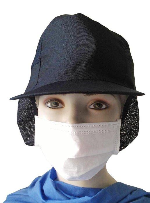 ☆°萊亞生活館-網帽。食品帽【工作帽 #22 (男女皆宜) - 黑色網帽】