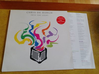 西洋黑膠《 Chris de Burgh - Into The Light 》英版