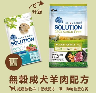 COCO《免耐吉斯超級無穀-成犬羊肉(大顆粒)15kg添加超級食物(海藻/綠唇貝/鮭魚油)低敏飼料/單一蛋白/骨關節保健