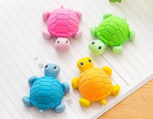 小烏龜橡皮擦 / 動物橡皮 / 奇趣橡皮 / 創意文具(隨機色)