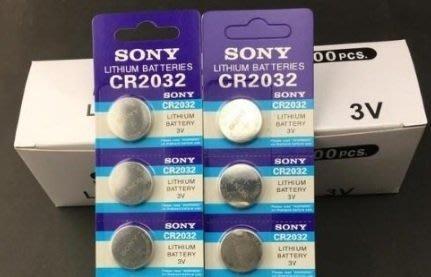 (鈕扣電池)㊣公司貨SONY鈕扣電池CR2016/CR2025/CR2032