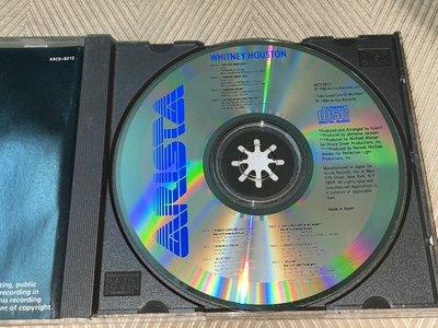 【李歐的音樂】近全新Arista唱片 WHITNEY HOUSTON  惠妮休士頓 首張同名 CD 無IFPI 日本版