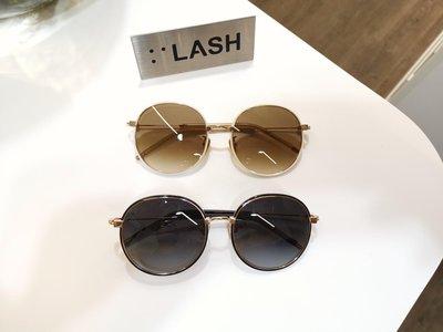 LASH ITCHY 韓風太陽眼鏡 黑色 , 象牙白 兩色可選