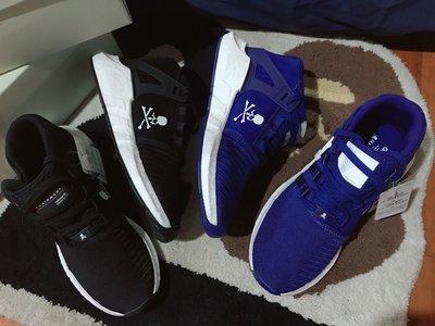 Adidas X MASTERMIND WORLD EQT Suppot 93/17  US8.5/9號  台灣公司貨