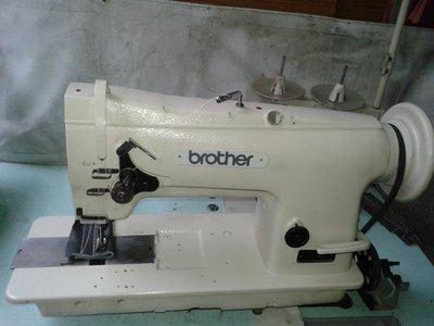 【 縫紉機/針車】日本製BROTHER 《大梭》綜合送工業用 適用於 皮革 帳篷 帆布類專用車