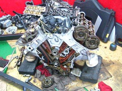百世 BENZ 賓士 M272 儀錶亮引擎燈  車子沒力 偶爾抖動 反向平衡軸磨損W221 S350 W251 R350