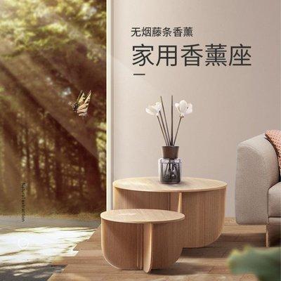 無火香薰精油家用室內臥室房間香水空氣清新劑廁所除臭香薰瓶干花XKL1265