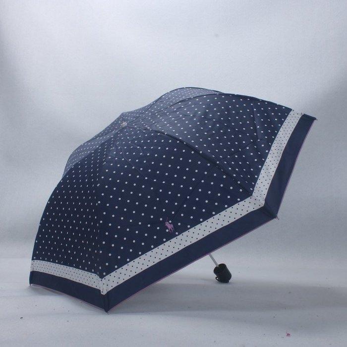 奇奇店-超輕三折傘防風勞倫*拉夫晴雨傘#加固 #小清新 #晴雨兩用