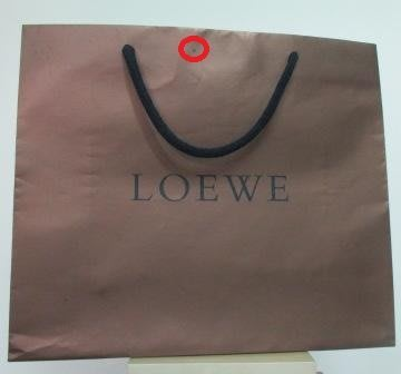 ~LOEWE 横式1 紙袋/提袋 40x34x15cm~