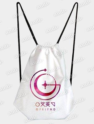 ~須 ~GFriend 單面彩印後揹束口包 束口背包 束口包 後背包 KPOP 韓團周邊 束口背包 訂做 客製