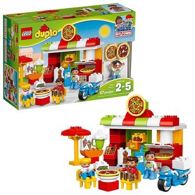 【 美國 LEGO 】LEGO Duplo My Town Pizzeria 10834_預購