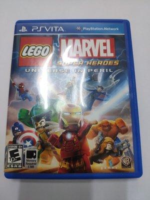 【一起玩】(二手) PSV 樂高 驚奇超級英雄 英文美版 PS VITA Lego Marvel Super