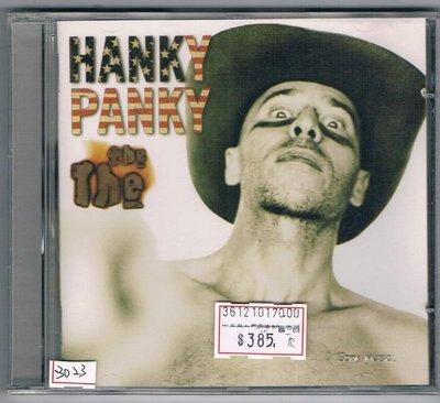 [鑫隆音樂]另類CD-那那:漢克式把戲 The The - Hanky Panky[5099747813924]全新