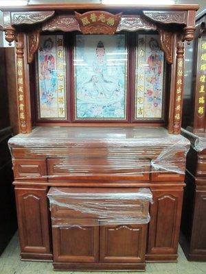 仙聖佛  台灣製造  5尺1  神櫥 神桌佛桌神櫥佛具 公媽桌 歡迎訂做