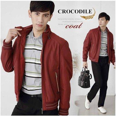 【大盤大】crocodile 拉鍊外套 M號 內裡外套 鋪棉外套 立領外套 專櫃品牌 百貨 男 冬禮物 保暖外套 過年