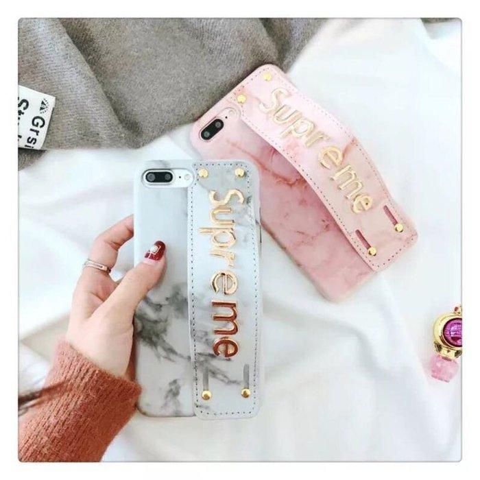 .PARIS WOMAN.大理石紋.皮腕帶 手機保護殼.iphone全系列型號